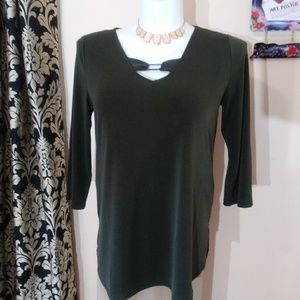 NWT Premise 3/4 Sleeve Women's Top